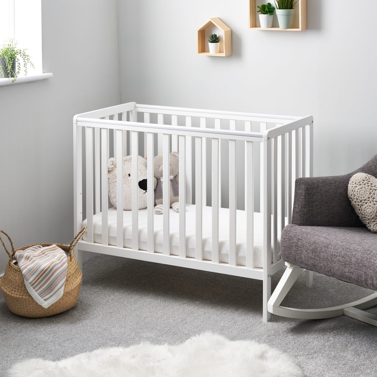 Bantam Space Saver Cot White