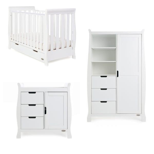 Stamford Mini 3 Piece Set - White