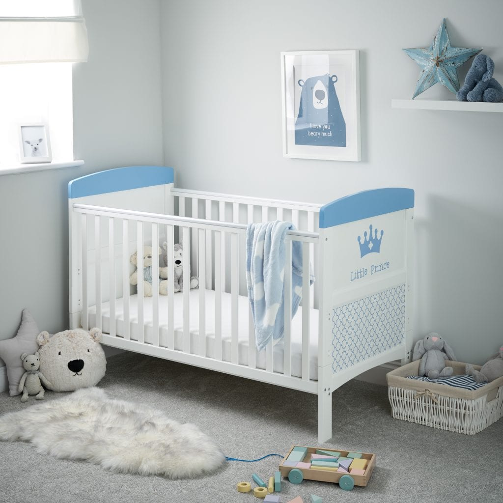 Grace Inspire Cot Bed Little Prince