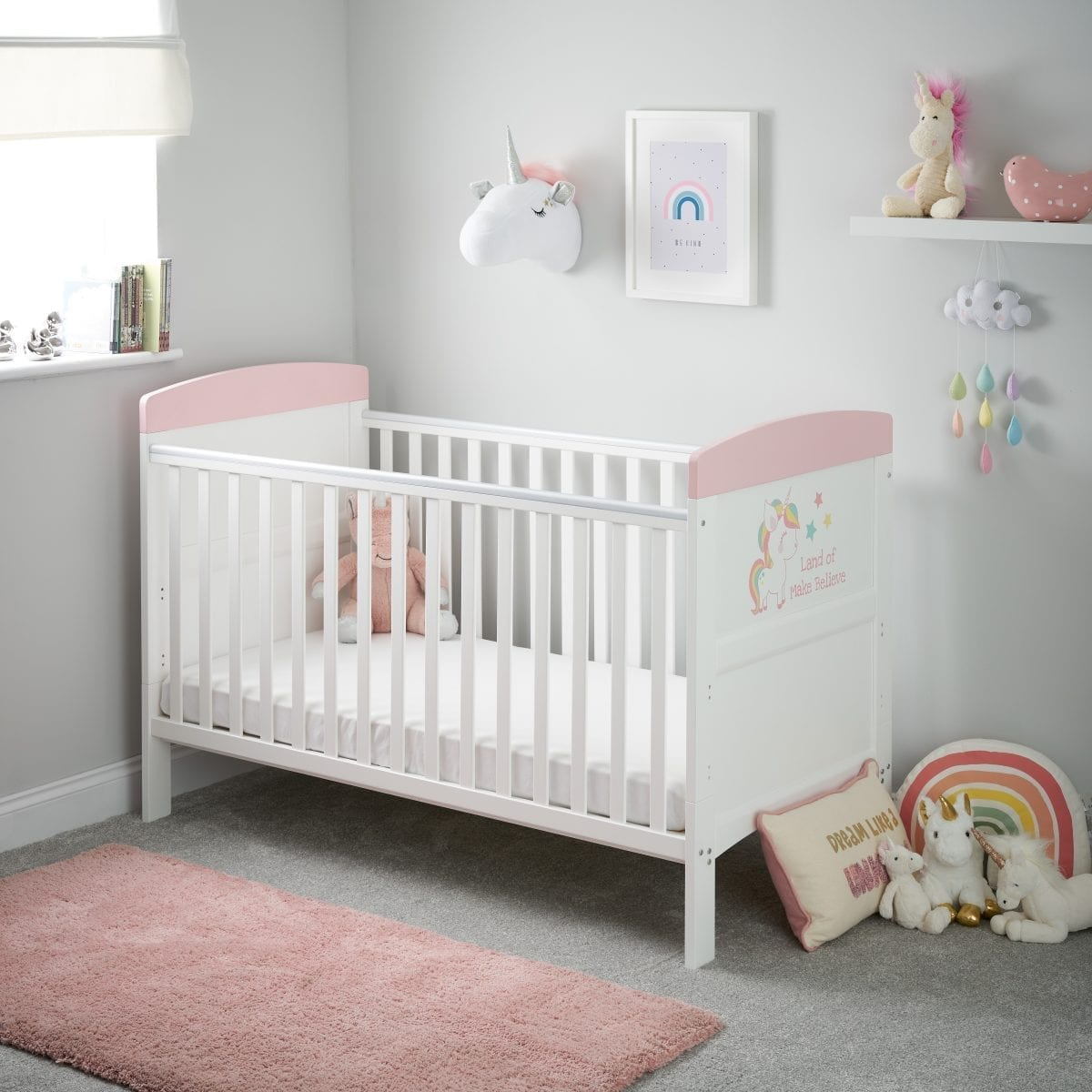 Grace Inspire Cot Bed Unicorn