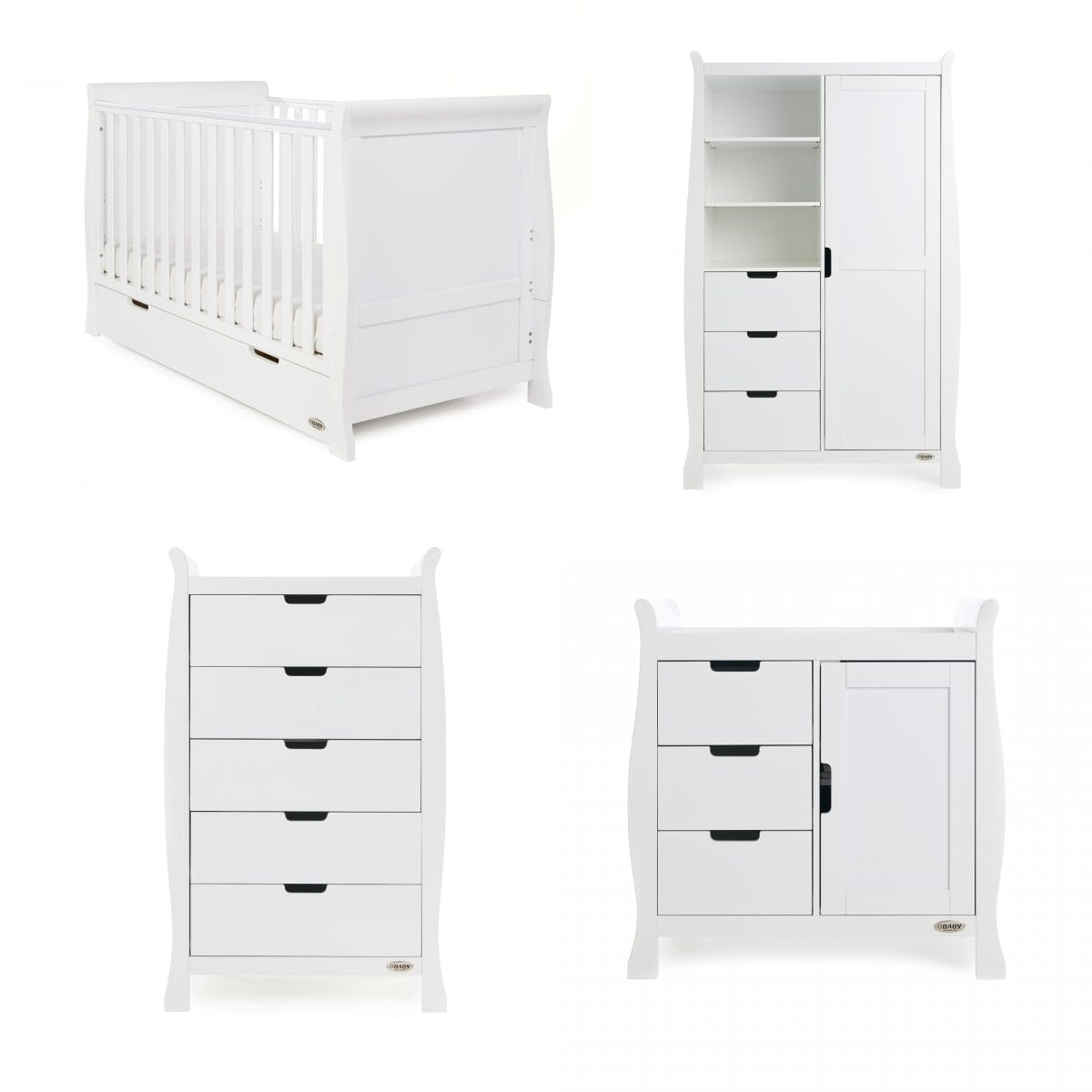 Stamford Classic 4 Pc Set - White