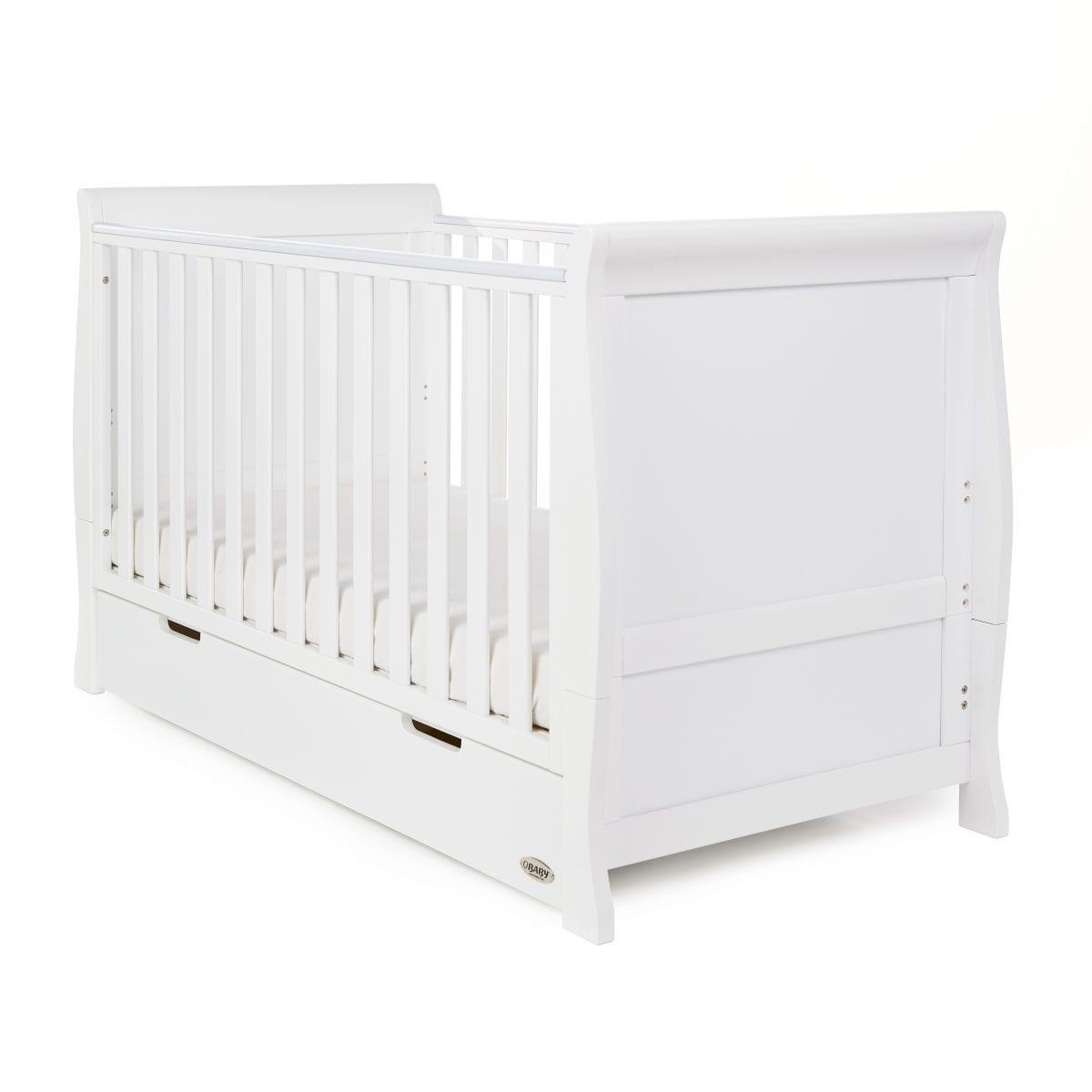 Stamford White Cot Bed - White