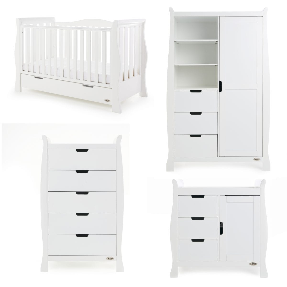 Stamford Luxe 4 Piece Set - White