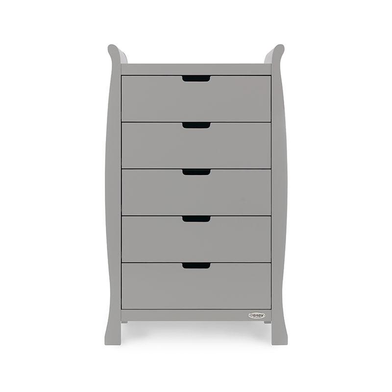 Stamford Tall Drawers - Warm Grey