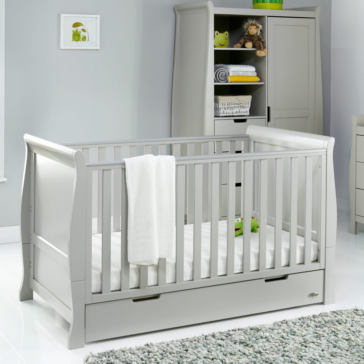 Stamford Classic Nursery Set - Warm Grey