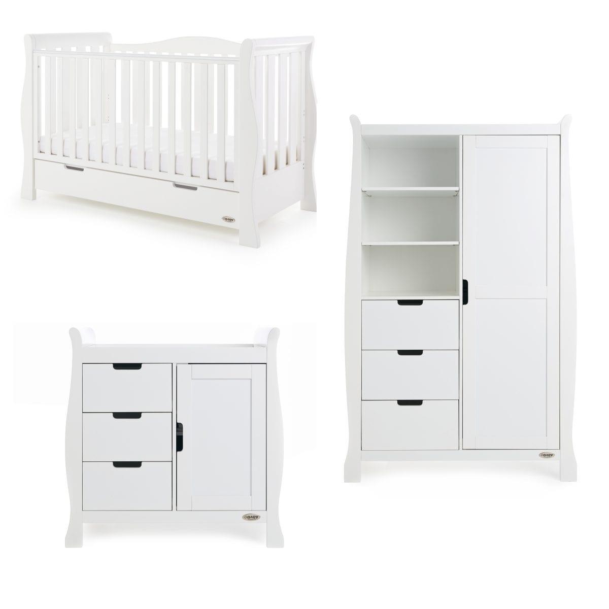 Stamford Luxe 3 Piece Set - White