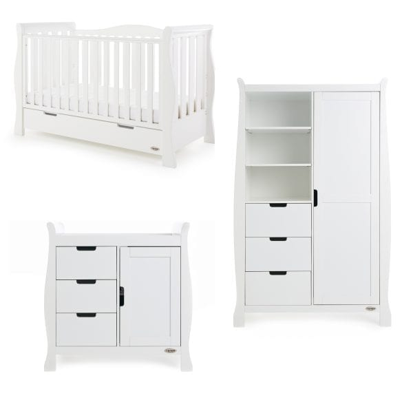 Stamford Luxe 3 Piece Set - White