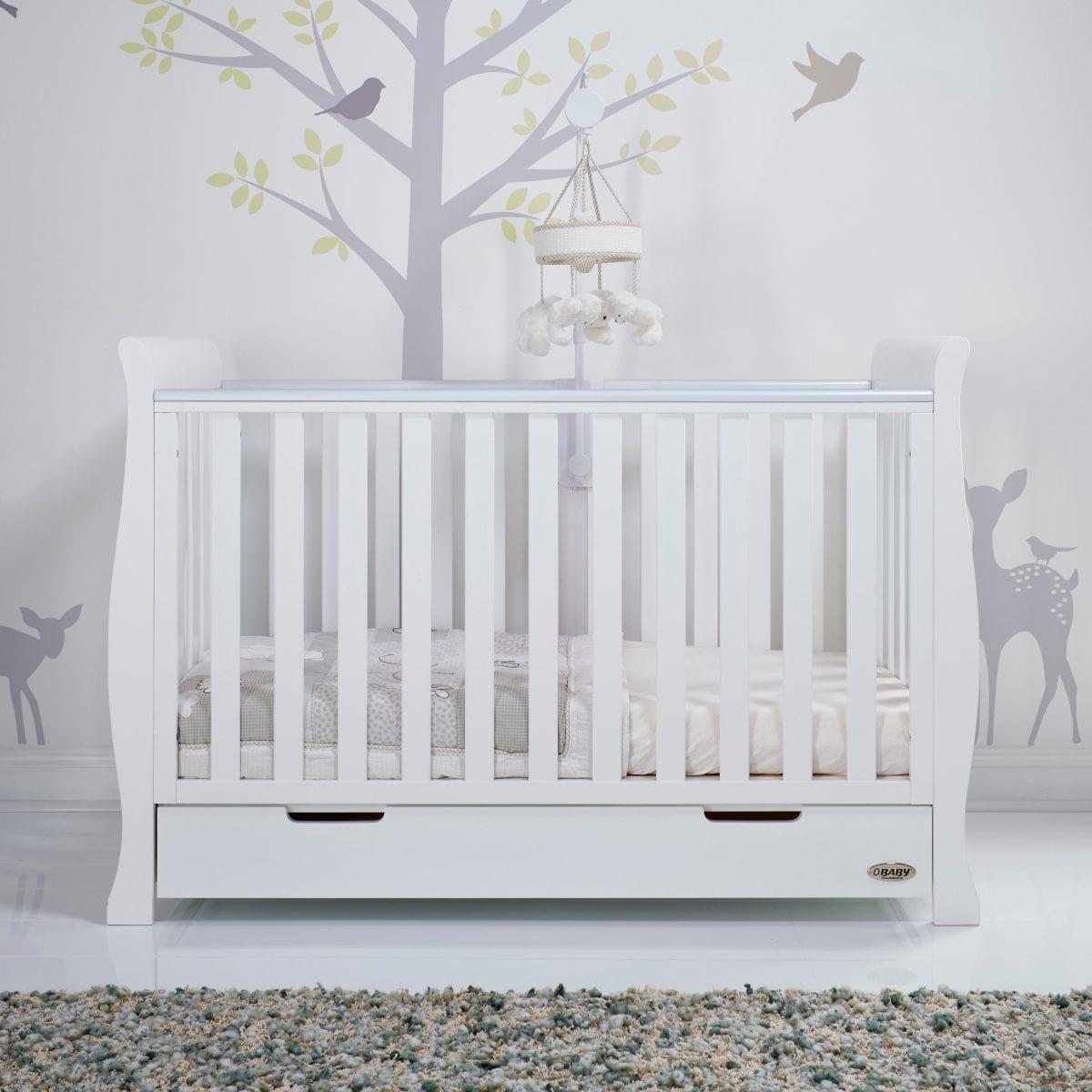 Stamford Mini Cot Bed - White