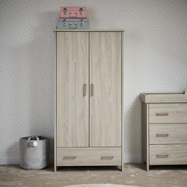 Nika Wardrobe - Grey Wash