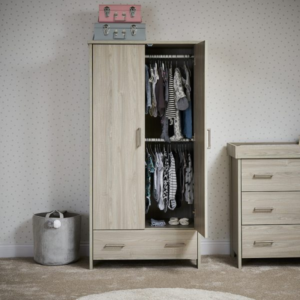 Nika Wardrobe - Grey Wash