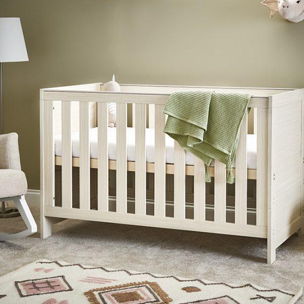 Nika Oatmeal Cot Bed